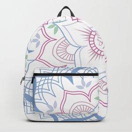 Decorative tribal Mandala Backpack