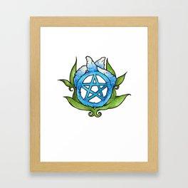 Pagan Pride Pentagram Framed Art Print