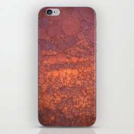 Percolated Sunset in Warm Tones iPhone Skin