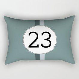 Rally 23 Rectangular Pillow