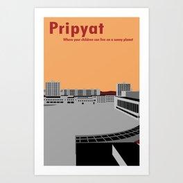 Pripyat City Square #2 Art Print