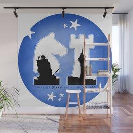 KNIGHT ROOK (Blue) Wall Mural