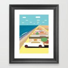 Imperial Beach 2 Framed Art Print