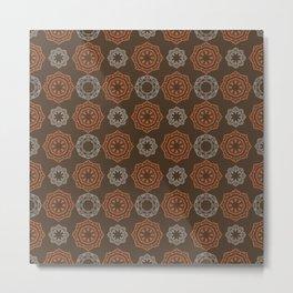 Modern Pattern 13 Metal Print