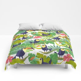 Toucan Paradise Pattern Comforters