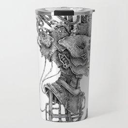 biomechanical sounds Travel Mug