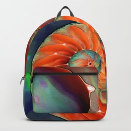 Nautilus Shell - Nature's Perfection by Sharon Cummings Backpack