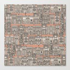 Avenue des Mode Canvas Print