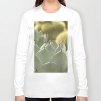 cactus Long Sleeve T-shirts featuring Succulent by Pure Nature Photos