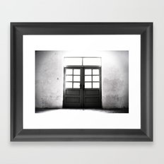 Doors to Hell Framed Art Print