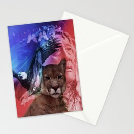 Native American Indian Stationery Cards