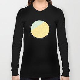 Retro Mod Flower #2 by Friztin Long Sleeve T-shirt