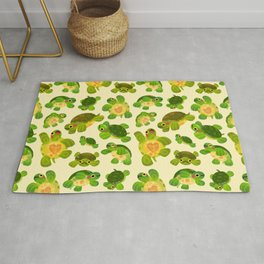 Red-eared slider Rug