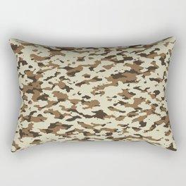 Camouflage: Arid Desert III Rectangular Pillow
