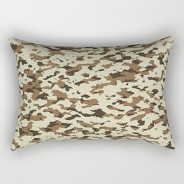 Camouflage: Arid Desert III Rectangular Pillow