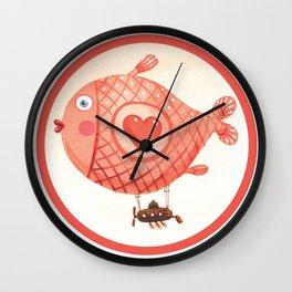 Flying_fish Wall Clock