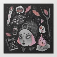 loll3 Canvas Prints featuring Magical ϟ Autumn by lOll3