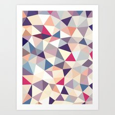 Plumtree Tris Art Print