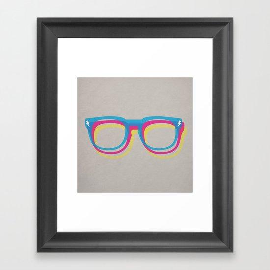 CMYgeeK Framed Art Print