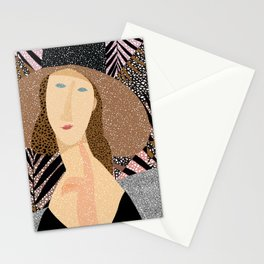 Women of Modigliani 1 Stationery Cards