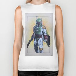 Boba Fett bounty hunter (Episode V-VI) Biker Tank