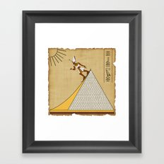 The real purpose Framed Art Print