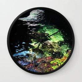 Sea Cave Wall Clock