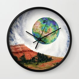 Rouge Planet Wall Clock
