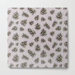 BG - Neutral snow cones Metal Print