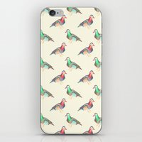 lsd iPhone & iPod Skins featuring LSD BIRDS by Michal Gorelick