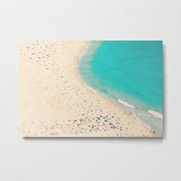 beach love III - Nazare Metal Print