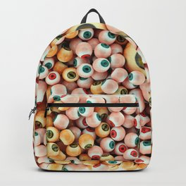 Monster Eyes Party 2 Backpack
