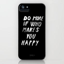 MORE iPhone Case