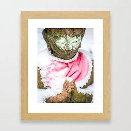 Frozen Prayer Framed Art Print