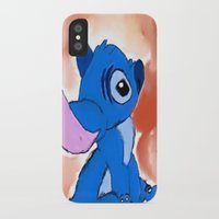 stitch iPhone & iPod Cases featuring STITCH  by Taylor Perren