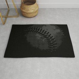 Baseball Illusion Rug