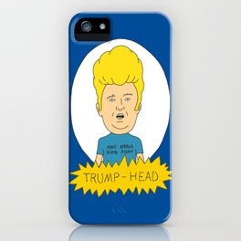 TRUMP-HEAD iPhone Case