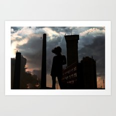 the edge of world's end. Art Print