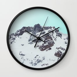 Canadian mountain scene #society6 #decor #buyart Wall Clock