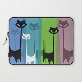 Kitty Cats Tuned In And Receiving Laptop Sleeve
