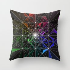 Spotty Variation 2 Geometric Art Print. Throw Pillow