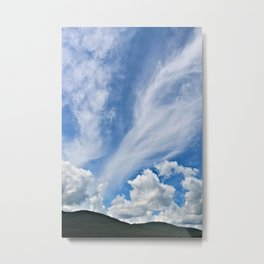 Cloud Path to the Milky Way Metal Print