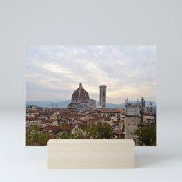Roof Top Garden in Florence (5/5) Mini Art Print