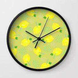 Happy Lemonade 1 Wall Clock