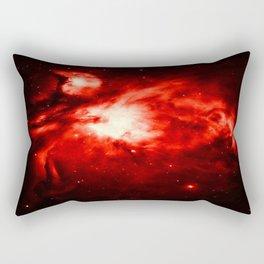 Orion NeBULA : Red Rectangular Pillow