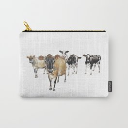 Cow Crowd Carry-All Pouch