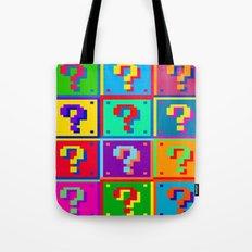 Mario Blocks Tote Bag