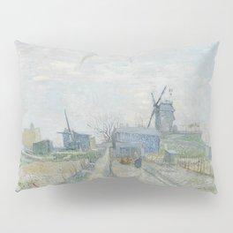 Montmartre: Windmills and Allotments Pillow Sham