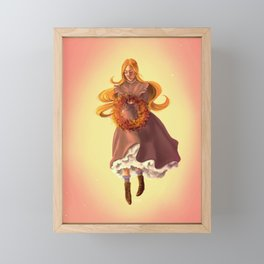 Autumn Equinox 2019 Framed Mini Art Print