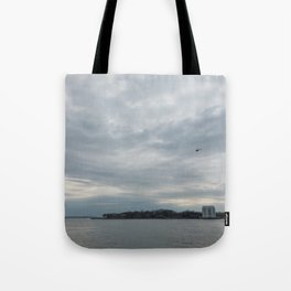 Clouds Over Governor's Island Tote Bag
